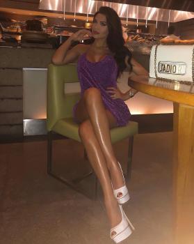 Purple dream dress @bleuluxuryofficial 💓