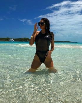 Monday mood 👙Bahamas 🇧🇸 wearing Mykonos black foil swimsuit available at www.katiapanteli.com  #katiapanteli #morethanaswimwear #katiapanteliswimwear #collection #luxury #swimsuit #fashion #miami #sea #sun #summer #hot #resort #design #influencer #instagram #passion #designer #beach #beachlife#photography #photoshoot #photo #red #gold #green #swimwear #bikini #sunset #beautiful