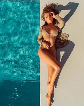 Obsessed with @liahbk 🙌🏻🙌🏻 get her total look St Barths gold lurex bikini and Casablanca gold lurex dress at www.katiapanteli.com Summer Sale Clearance up to -70 📣👙shop now ➡️www.katiapanteli.com #katiapanteliswimwear #morethanaswimwear #collection #luxury #fashion #miami #sea #sun #summer #hot #resort #design #influencer #instagram #passion #designer #beach #beachlife#photography #photoshoot #photo #red #gold #green #swimwear #bikini #beautiful #mood 🔥💣